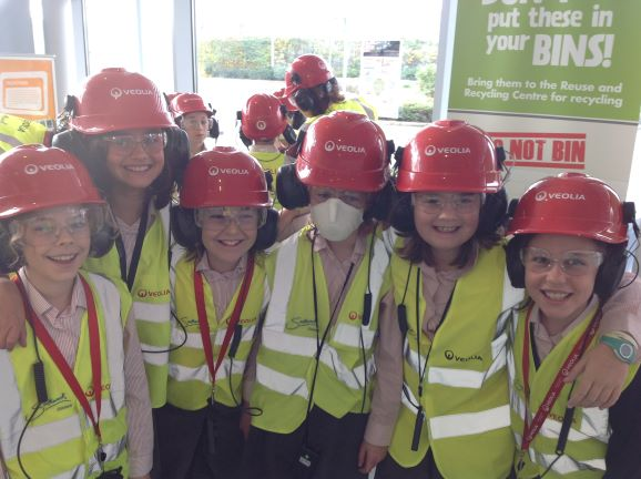 Year 5 Visit to the Southwark Recycling Centre