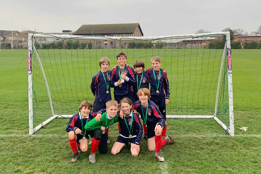 U11 Football Success