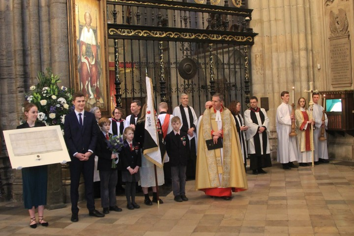 Service of Thanksgiving and Commemoration at Westminster Abbey