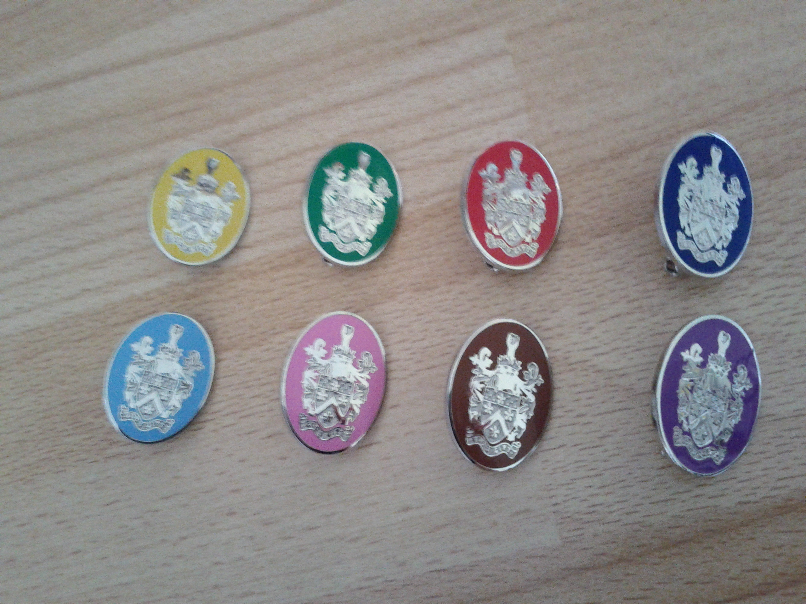 House badges