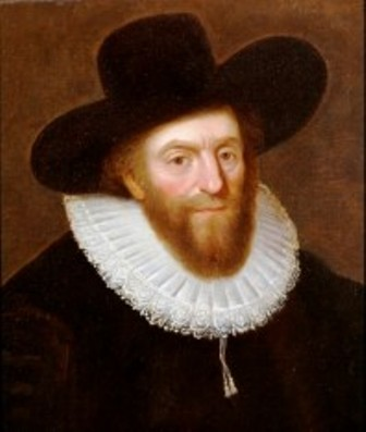Portrait of Edward Alleyn