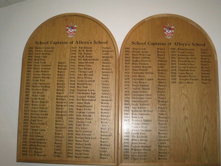School Captains' Boards