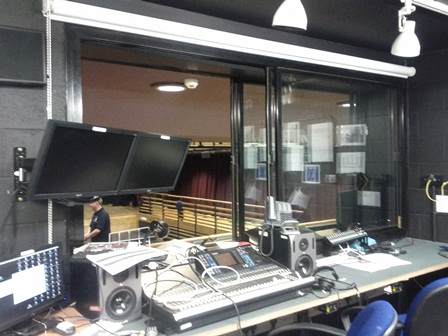 Control Room in the MCT at Alleyn's