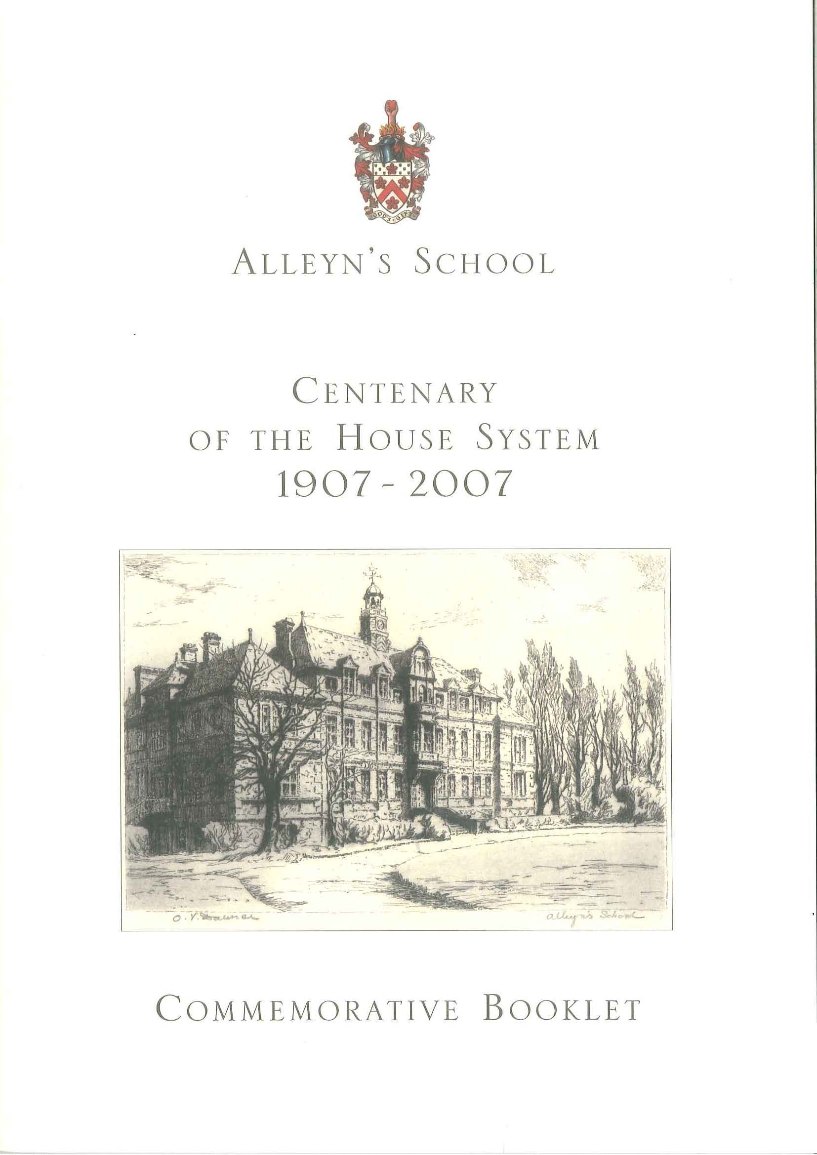 Centenary of the House-System brochure