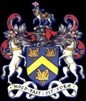 The Worshipful Company of Saddlers' coat of arms shield