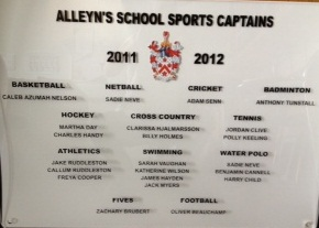 Sports Captains boards