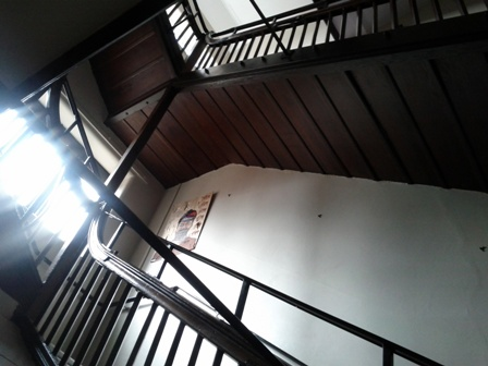 Staircases inside the Main Building