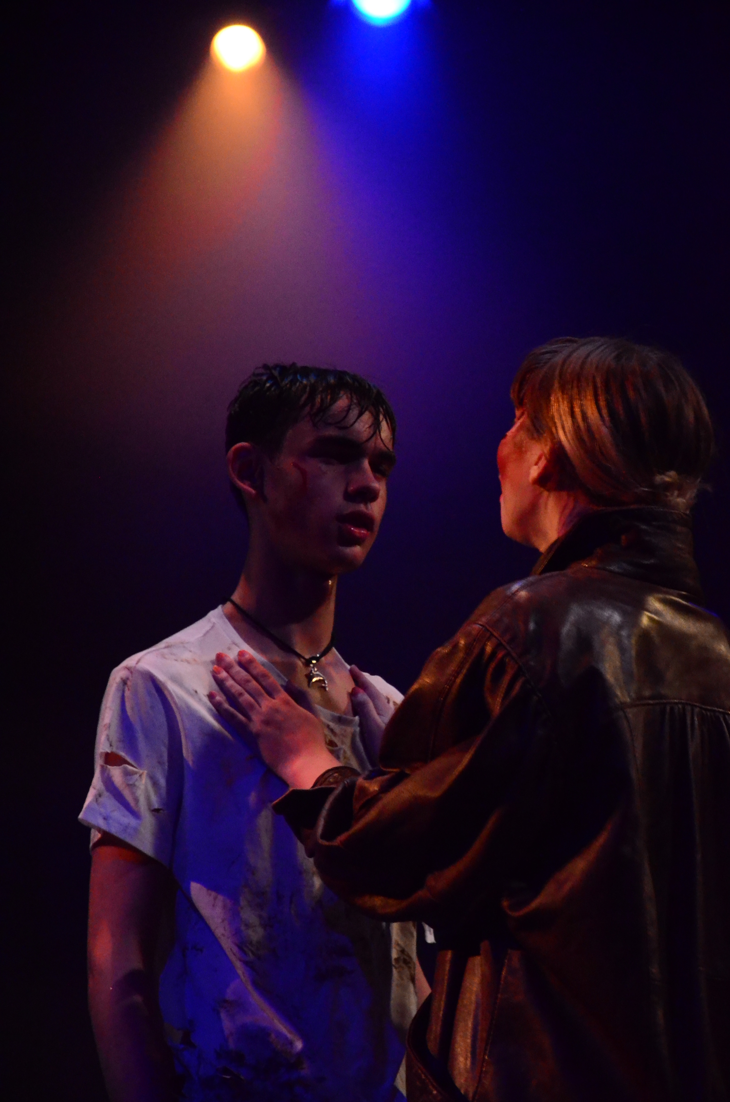 Alleyn's pupils performing in the gender-fluid presentation of Julius Caesar