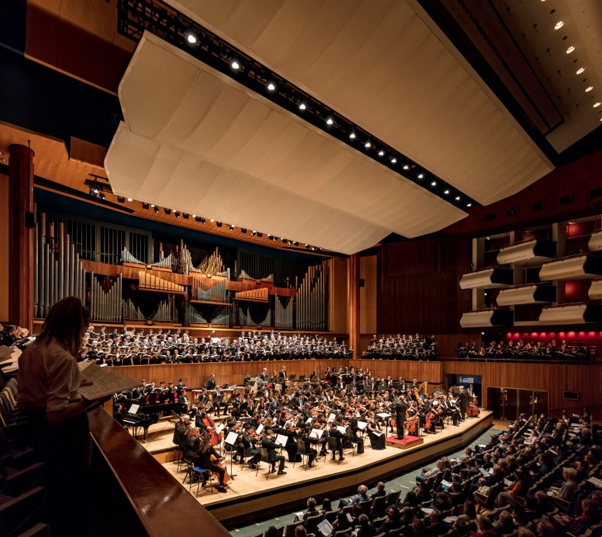Alleyn's pupils perform at Royal Festival Hall as part of the Joint Foundation Schools' Orchestra and Choir