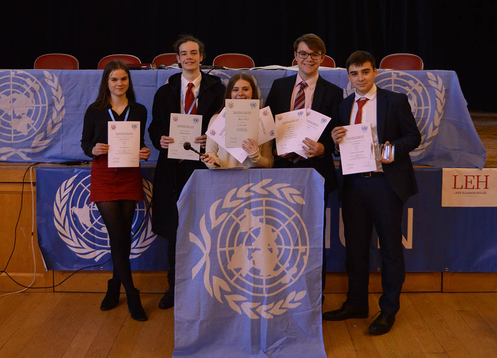 Model United Nations success