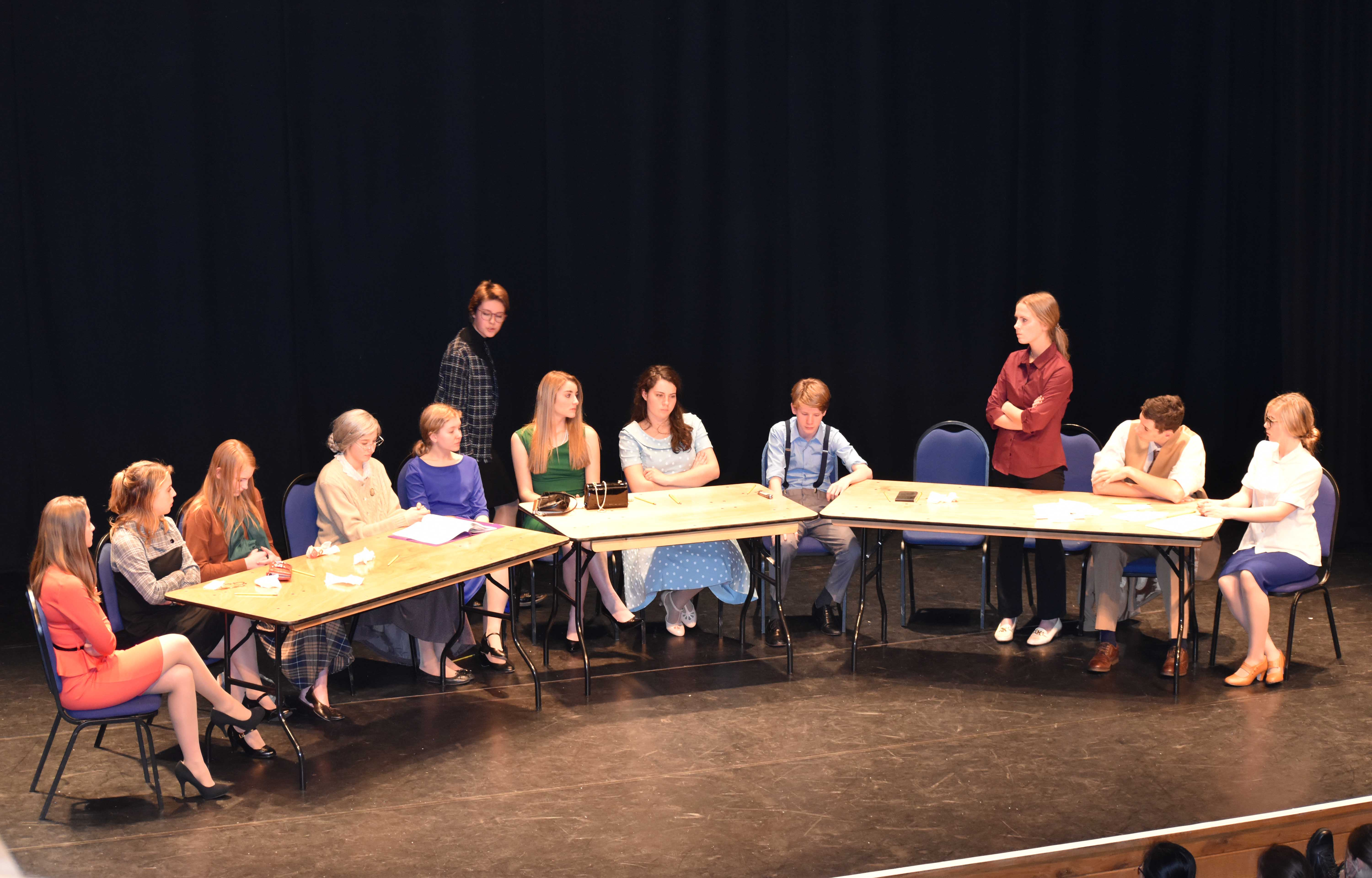 On stage: Twelve Angry Jurors
