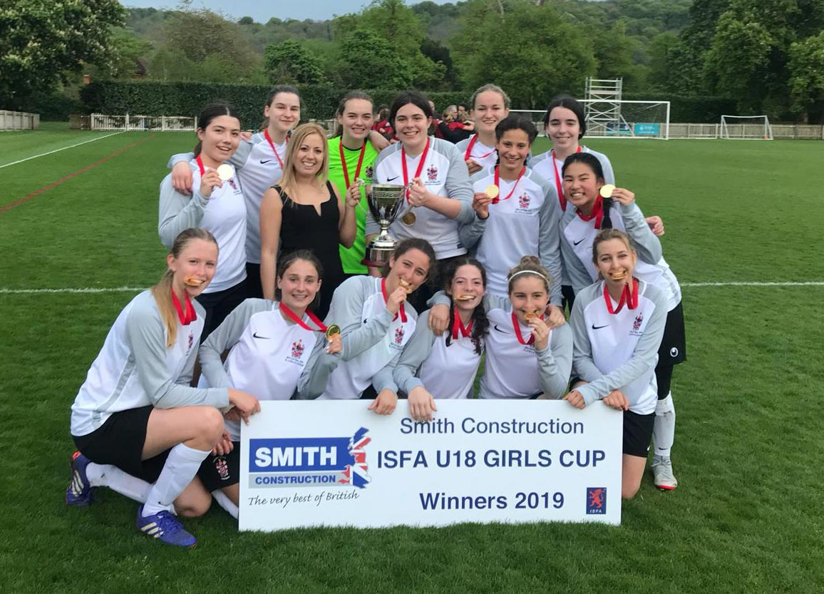 Alleyn's Girls become ISFA National Champions!